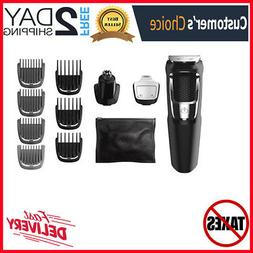 13 Piece Multi Groomer Beard, Face, Nose And Ear Hair Trimme