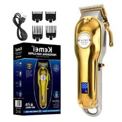 Kemei 1986 PG All-Metal Professional Cordless Hair Clippers