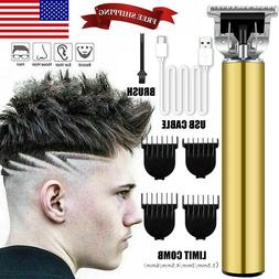 2020 Men Pro Hair Clippers Beard Trimmer Electric Cordless S