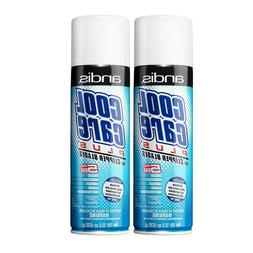 Andis 2PK Cool Care Plus Spray Can for Clipper & Trimmer 15.