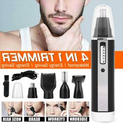 4 In 1 Rechargeable Hair Beard Eyebrow Ear Nose Shave Trimme