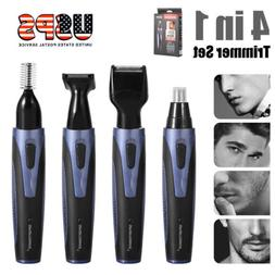 4in1 Hair Professional Rechargeable Eyebrow Ear Nose Trimmer