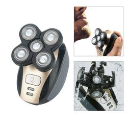 5 IN 1 4D Rotary Electric Shaver Rechargeable Bald Head Shav