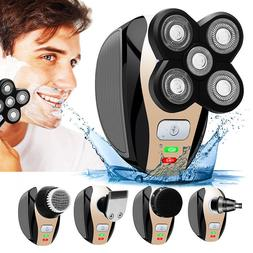 5 in 1 Electric Shaver Razor Hair Beard Trimmer Shaving Mach