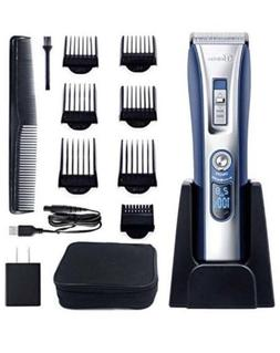 Hatteker 5 in 1 Rechargeable Hair Clipper Beard Trimmer Kit