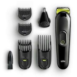 Braun 6-in-1 Men's Beard Trimmer & Hair Clipper Shaver Styli