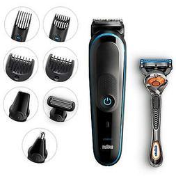 Braun 9-in-1 MGK5080 Beard Trimmer Shaver & Hair Clipper, Bo