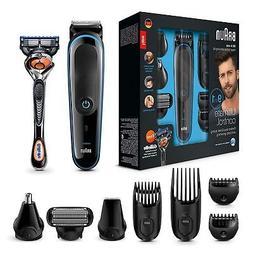 Braun 9-in-1 Precision Beard/Body Trimmer Shaver +Gillette F