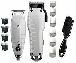 Andis Barber Combo-Powerful High-speed adjustable clipper bl