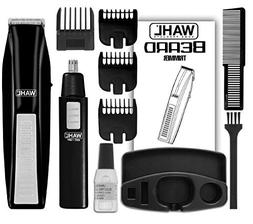 New Wahl Cordless Battery Beard Mustache Trimmer Hair Shaver