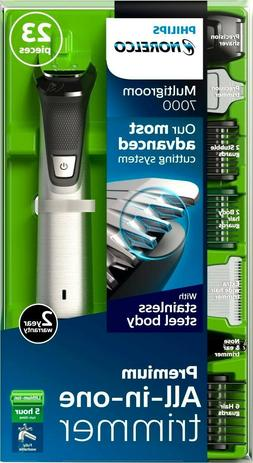 Philips Norelco - Multigroom 7000 Trimmer - Silver