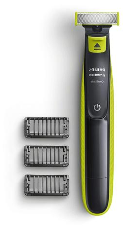 Philips Norelco - Oneblade Wet/dry Electric Trimmer - Lime G