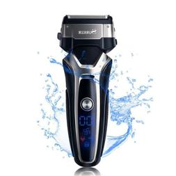 SURKER Beard Trimmer Men's Electric Foil Shavers Razor Elect