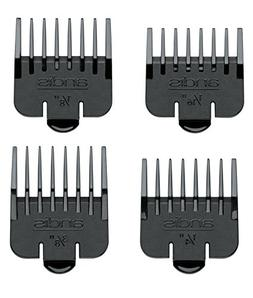Andis Attachment Set 4 Snap On Combs #04640 Fits Outliner Ii