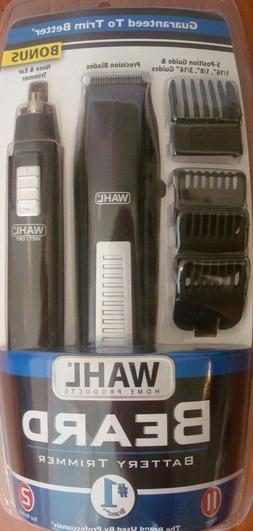 Wahl Battery Beard Trimmer With Bonus Personal Ear and Nose