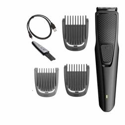 Philips Norelco Beard and Hair Trimmer with 3 Attachments Co