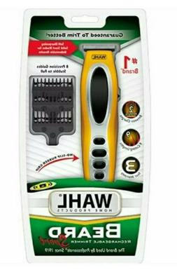 WAHL Beard - Rechargeable Yellow Trimmer Sport 9953- 200 Pre