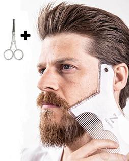Sharpiz Beard Shaping Liner Stencil Tool | Transparent Shape