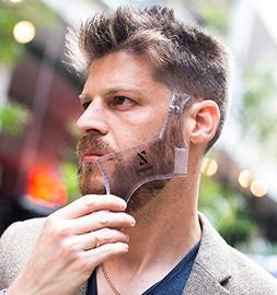 Beard Shaping Tool Liner Template by Sharpiz | Transparent S