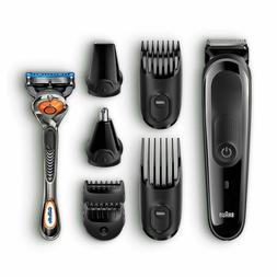 Braun Beard Trimmer for Men 8-in-1 Cordless Hair Clippers wi