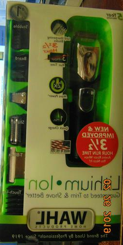 Wahl Beard Trimmer, Lithium Ion All-in-One Men's Grooming Ki