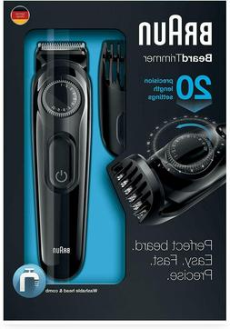 Beard Trimmer Lowest Price Braun BT3020  Best Quality free s