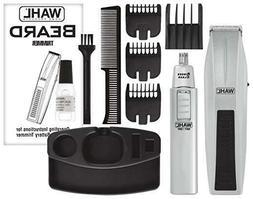 Beard Trimmer Mustache Clipper Battery Shaver Cordless Men H