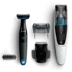 Philips Beard Trimmer Series 7000 Vacuum Beard Trimmer With
