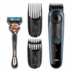 Braun Beard Trimmer with Gillette Fusion ProGlide Razor - BT