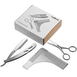 Beard Trimming Tool, SoulBay Mustache Shaping Symmetric Kit