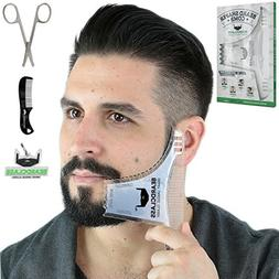 BEARDCLASS Beard Shaping Tool - 8 in 1 Comb Multi-liner Bear