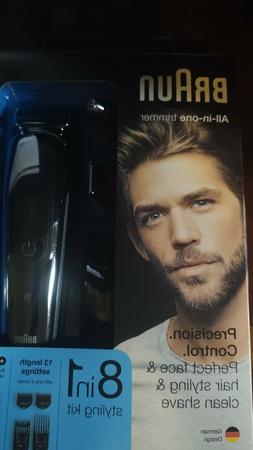 Braun Multi Grooming Kit MGK3060 8 in 1 Beard Hair Trimmer f