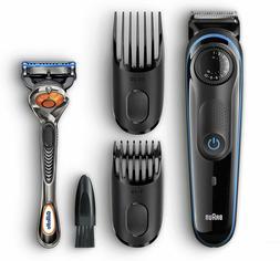 Braun BT3040 Beard Hair Trimmer for Men with Free Gillette F