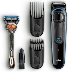 Braun BT3040 Men's Beard Hair Trimmer Styler & Gillette Fu