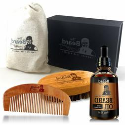 Beard Care Kit Men Grooming Set Supplies Products Organic Gr