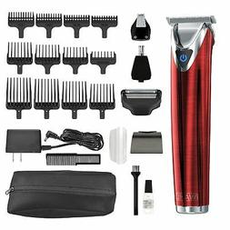 Wahl Clipper Stainless Steel Lithium Ion Plus Beard Trimmer