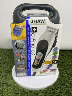 Wahl Color Pro Plus Clipper Haircutting Kit with SelfSharpen