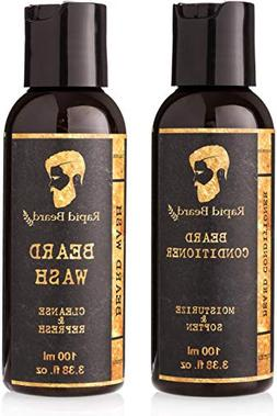 Beard Shampoo and Beard Conditioner Wash & Growth kit for Me