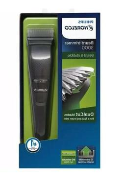 Philips Norelco Cordless Beard Trimmer Adjustable Length Ser