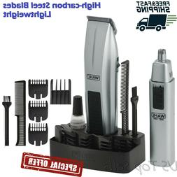 Cordless Hair Clipper Cutting Machine Kit Shaving Grooming T