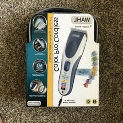 Wahl Color Pro Cordless Rechargeable Hair Clipper 21 piece M