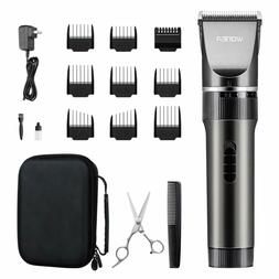 WONER Cordless Rechargeable Hair Clippers, Hair Trimmers for