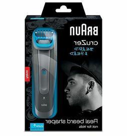 Braun cruZer 6 Cordless Beard & Head 3-in-1 Mens Wet & Dry T