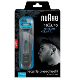 Braun cruZer 6 Cordless Beard & Head 3-in-1 Mens Wet & Dry T