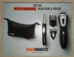 Conair Deluxe Beard And Mustache Grooming System Trimmer Set