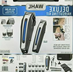 🔵 Wahl Deluxe Complete Hair Cutting Kit 29 Piece Clipper