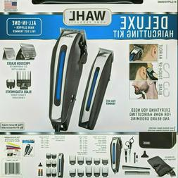 Wahl Deluxe Complete Hair Cutting Kit 29 Piece Clipper Set w