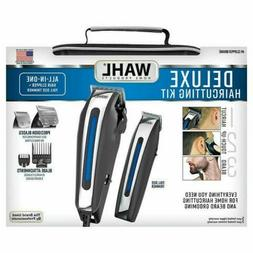 Wahl Deluxe Haircutting Kit Clipper Set with Beard Trimmer