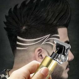 Electric Hair Clipper T-Blade Trimmer Cordless Barber Shaver