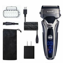 Electric Shaver for Men Wet Dry Foil Shaver Mens Electric Ra